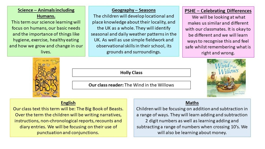 Curriculum overview autumn 2 year 2