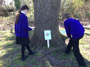 Year 5 Easter Hunt Photos